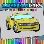 Amerikanske Biler Coloring Bok