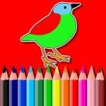 BTS Fugler Coloring Bok