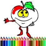 BTS Frukt Coloring