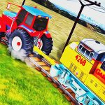 Lenket Traktor Tauing Train Simulator