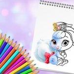 Søte Dyr Coloring Bok