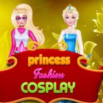 Prinsesse Fashion Cosplay