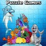 Puslespill For Kids Spill Tegneserie