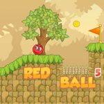 Røde Sprette Ballen 5