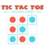 Tic Tac Toe Farger Spill