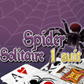 Spider Solitaire 1 sort